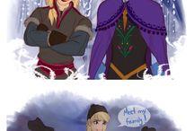 Frozen and  Disney's films