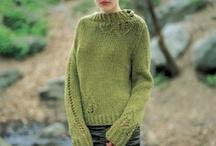 knitting, crocheting.