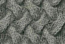 Узоры спицами.knit stitches