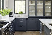 Color in kitchens