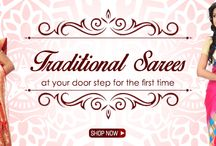 When TRADITION meets STYLE! / Traditional sarees are always in vogue.....