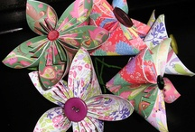 Craft - Fabric and Paper Flowers