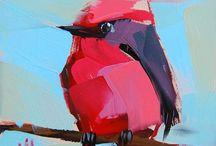 Рисование птиц