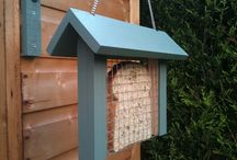 Bird feeder&bird house