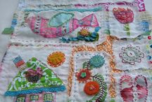 fabric art ♥