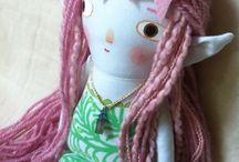 Thingdomfolk / Handmade art dolls