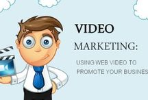 Video Marketing /  Video marketing is the act of using web video to promote your business. These videos can be daily blogs, web commercials, or any other type of video you put on the internet that promotes your business!