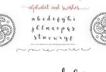 Uložené fonty