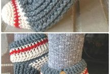 Crochet Slippers And Socks