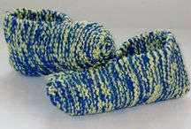 Pantoufle tricot