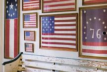 Americana Greatness / RED, WHITE & BLUE, Patriotic, flags, 4th of July