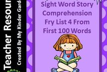 Reading Resources K-2 / This board is a great place to find awesome reading resources for grades kindergarten, first grade, and second grade.