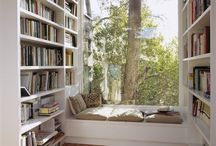 Window seat the best place to read