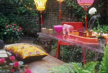 Gardening & Outdoor Living / A touch of whimsy, a touch of tropical and a whole lot of lushness. / by Evita Smith