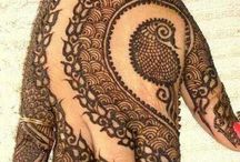 Bridal Mehndi / mehndi traditional way of showing love :) ♡♥♡