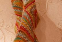 ponožky / ponožky pletené