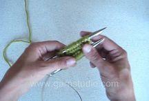 Håndarbeid / Hekle, strikke, sy