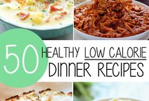 Dinner ideas law calories