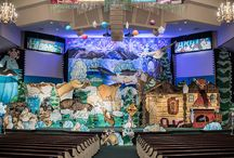 Operation Arctic Set and Drama / At Operation Arctic, Answers VBS 2017, kids will explore the coolest book on the planet -- the Bible! The main set features the interior of a cabin and an exterior Arctic scene.