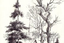 Рисунок Эскизы