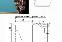 Kaftan pattern sewing