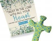 Scripture Cross Collection / Our newest addition to the comforting clay cross collection- the scripture cross. Each cross comes with a verse on the packaging to create the perfect gift of comfort for loved ones.