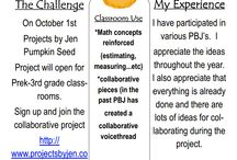 Collaborative Project Ideas / Ideas for connecting your classroom.  #podstock13