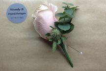 Weddings 2016 / Button holes, bouquets, vases, table centres.