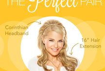 "Perfect Pairs / Fan Exclusive! Right now, get any braided headband for $5 when you purchase the 16"" extensions. Just enter coupon code PERFECTPAIR at checkout!  Find your #perfectpair: http://bit.ly/ICLUjd! / by Hair2wear"