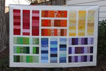 Quilting - rainbow quilts