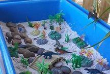 Dinosaurierspielandschaft