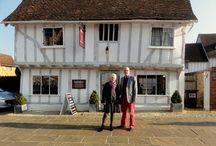 Lavenham, England / Lavenham is a medieval village in rural Suffolk, England.