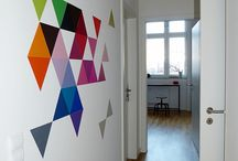 colorfull walls