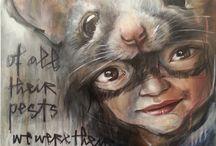 Heracurt graffiti
