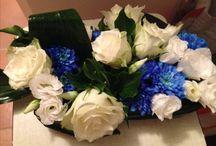Fleurs baptême