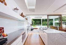 Kitchen/ living layout etc