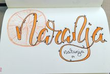Lettering Maria