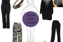 clothes for apple body