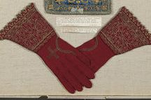 Liturgical gloves / All these belonged to Bishops or were used in churches