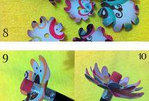 DIY Feitos por mim / Artesanatos, Scrapbook e muito DIY feito por mim. Crafts de todos os tipos!