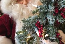 Santa at Chalet / With all the different Santa's we have in our store, i bet we have one that fits your personality!