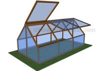Free Greenhouse Plans / Step by step greenhouse plans. Learn how to build a small backyard greenhouse in just a few days. Keep the costs under control and build your dream greenhouse using common tools and materials.