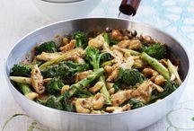 Sauté poulet et brocoli