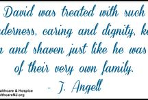Family Member Quotes / This are real quotes from the families who have used Samaritan's hospice and palliative care services.
