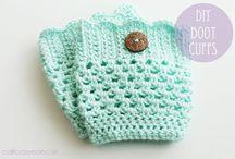 Crochet boot cuffs / by Kristine Swiontek