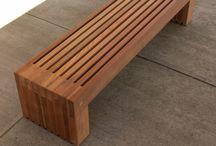 lavica záhradná