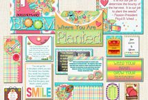 'Bloom Where You Are Planted' Missionary Care Package Kit / A Fabulous place to find Fun & Spiritual Care Package Ideas and Instant Downloads to send your Missionary! Easy & Helpful How to's including shopping lists and links.