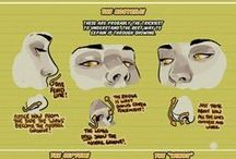 Drawing-nose