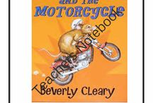 The Mouse and the Motorcycle Ideas and Activities / Study Ideas | Activities | Homeschooling | Educational | The Mouse and the Motorcycle  | Printables | Learning | Unit Studies | Crafts | Book | Novel Study | Reading