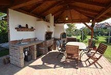 Bahçe mutfak